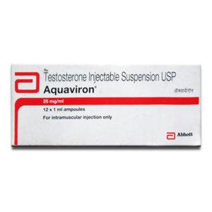 Comprar Suspensión de testosterona - Aquaviron Precio en españa
