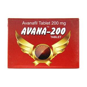 Comprar Avanafil - Avana 200 Precio en españa