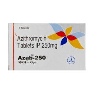 Comprar Azitromicina - Azab 250 Precio en españa