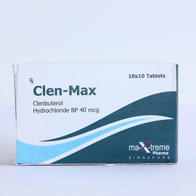 Comprar Clorhidrato de clenbuterol (Clen) - Clen-Max Precio en españa