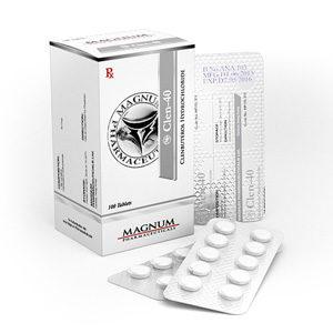 Comprar Clorhidrato de clenbuterol (Clen) - Magnum Clen-40 Precio en españa