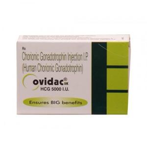 Comprar HCG - Ovidac 5000 IU Precio en españa