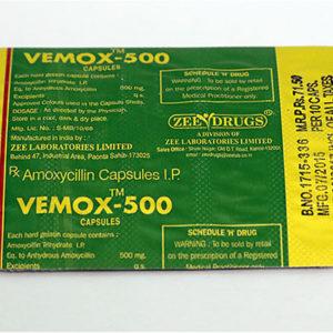 Comprar Amoxicilina - Vemox 500 Precio en españa